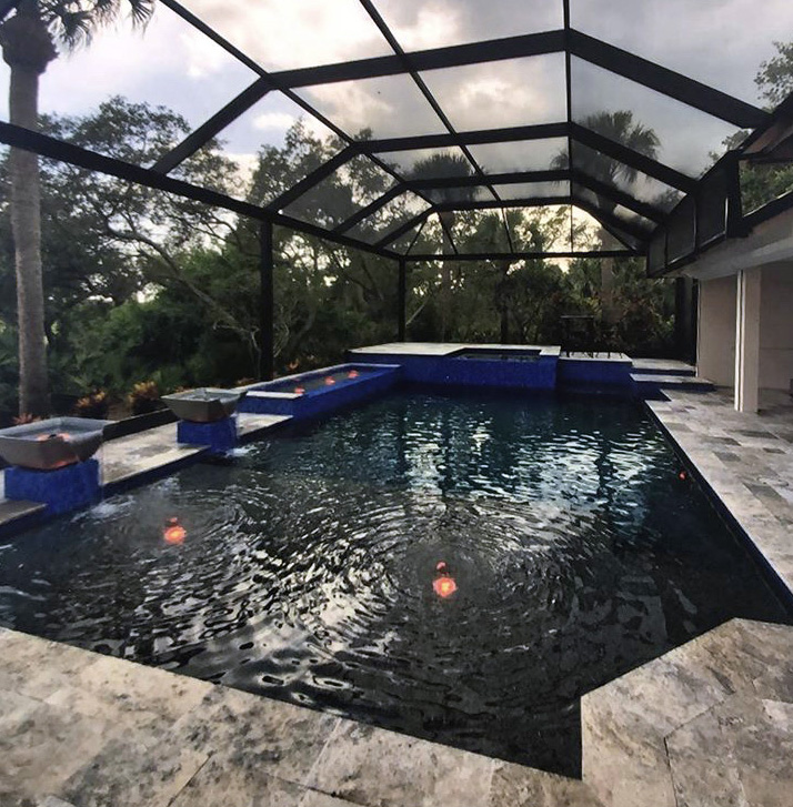 We're proud to offer reliable, high-quality pool maintenance